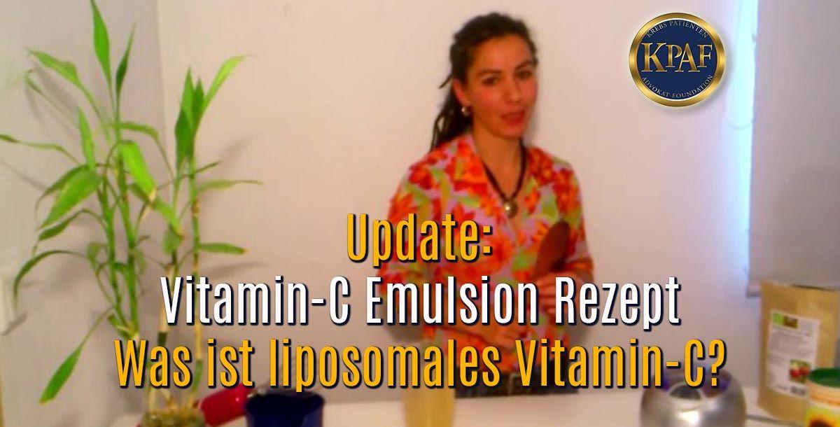 Wie Ihr selbst zuhause eine Vitamin-C Emulsion herstellen könnt