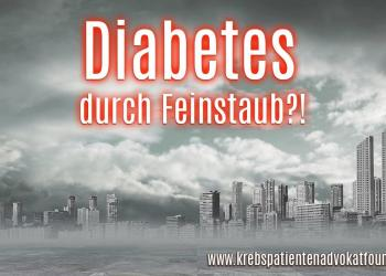 Diabetes durch Feinstaub?