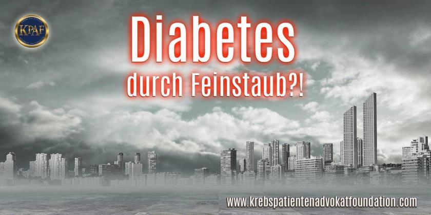 Diabetes durch Feinstaub?