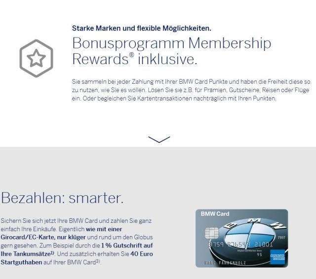 BMW American Express - Membership Rewards