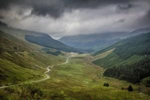 Schottland - Pass - A83 Nähe Loch Restil