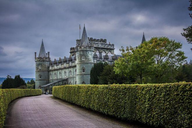 Schottland - Inveraray Schloss