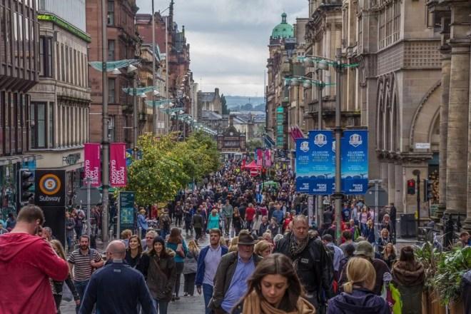Schottland - Glasgow - Buchanen Street