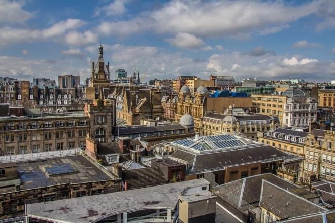 Schottland - Glasgow - Aussicht von The Lighthouse