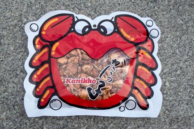 Krabbe als Snack