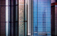 Abstract - Hong Kong - Hochhaeuser 01