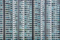 Abstract - Hong Kong - Hochhaeuser 02