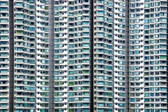 Abstract - Hong Kong - Hochhaeuser 02