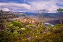 Australia - Tasmania - Cradle Mountain Lake St Clair NP - Mountain View