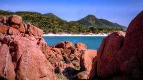 Australia - Tasmania - Freycinet National Park - Wineglass Bay 2