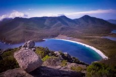 Australia - Tasmania - Freycinet National Park - Wineglass Bay