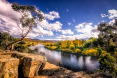 Australia - Tasmania - New Norfolk - The River