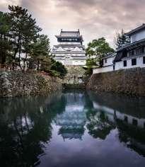 Japan - Hyogo - Fukuoka - Kitakyushu - Die Burg