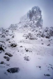 New Zealand - Tongariro National Park 003 In a Snow Storm