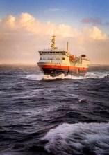 Norway - Hurtigruten ship