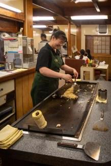Japan (2018) - Osaka - Genialer Okonomiyaki Genuß