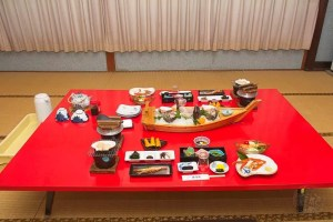 Japan - Mie - Ise Bucht - Besonderes Abendessen