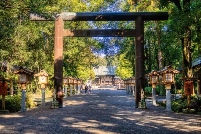 Japan (2019) - 034 Miyazaki Miyazaki Jingu Schrein