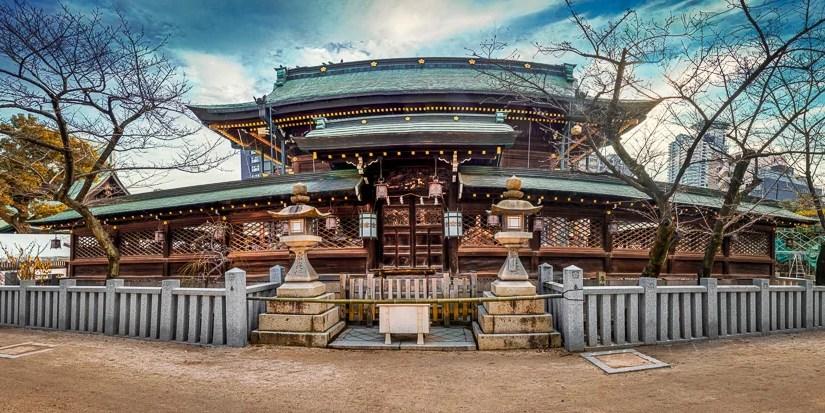 Japan (2020) – Osaka – Tenman-gū  Schrein