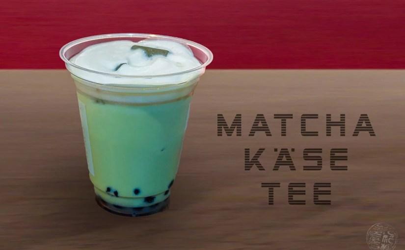 Japan (2019) – Trinken –  Matcha Käse Tee