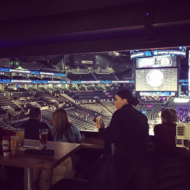 First Time Barclays Center #barclayscenter #centurionlounge