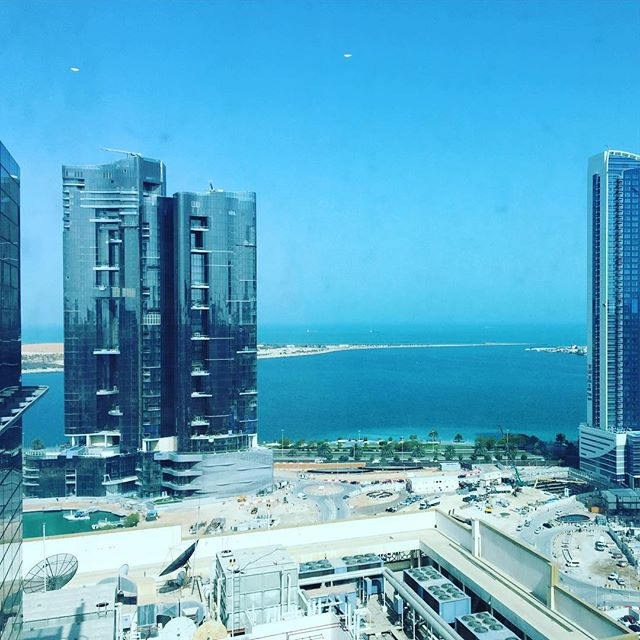 Good morning, Abu Dhabi #abudhabi #foroneday