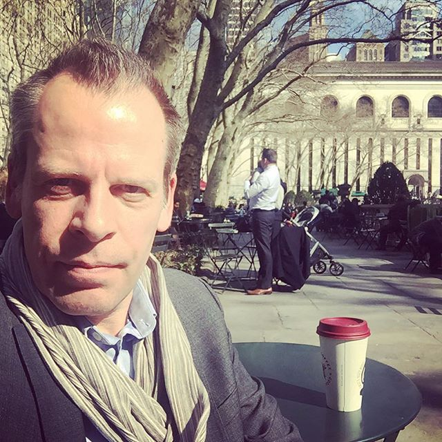Spring finally? #bryantpark #springinnyc