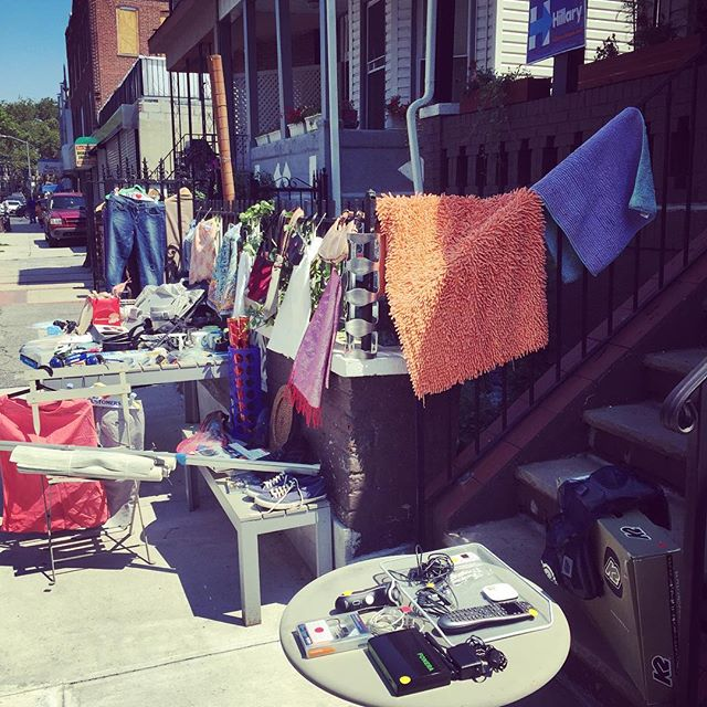 Yard Sale #flatbushcottage