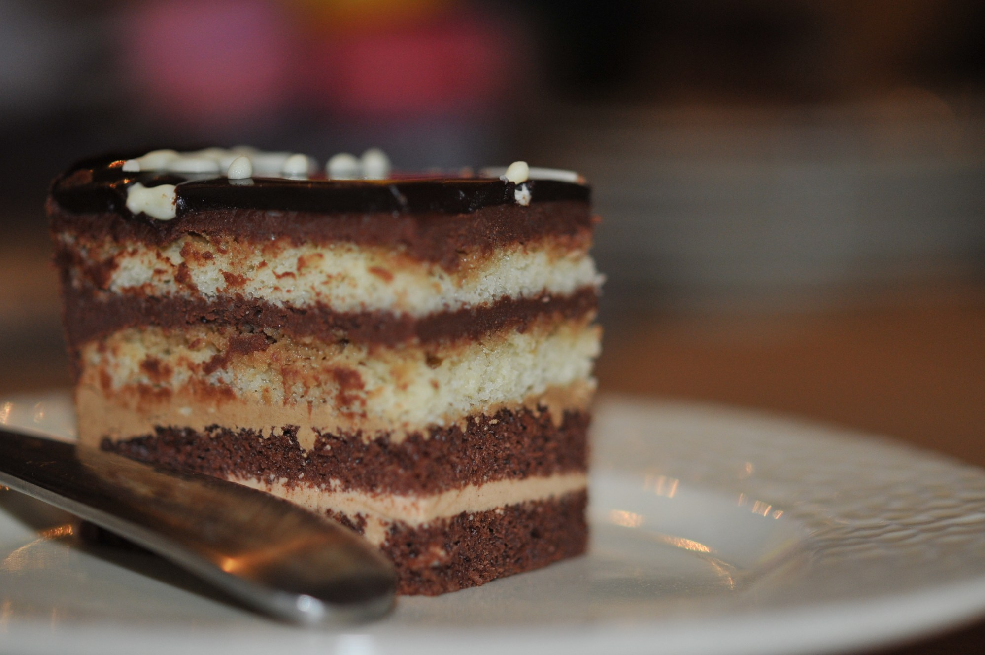 Opera Cake--9 layers of wonder!