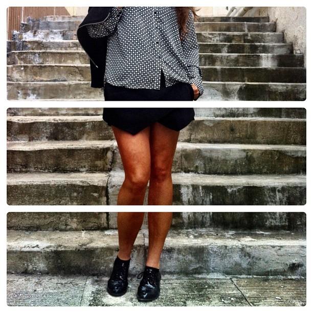 Love these Zara shorts!