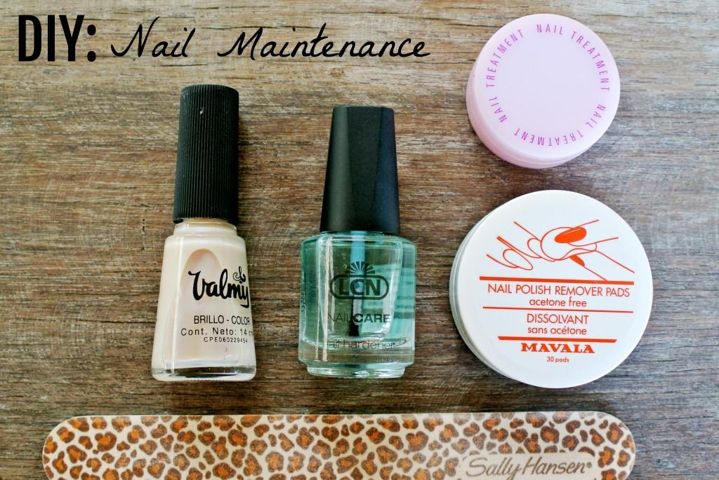 DIY: Nail Maintenance