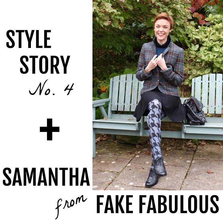 Samantha from Fake Fabulous