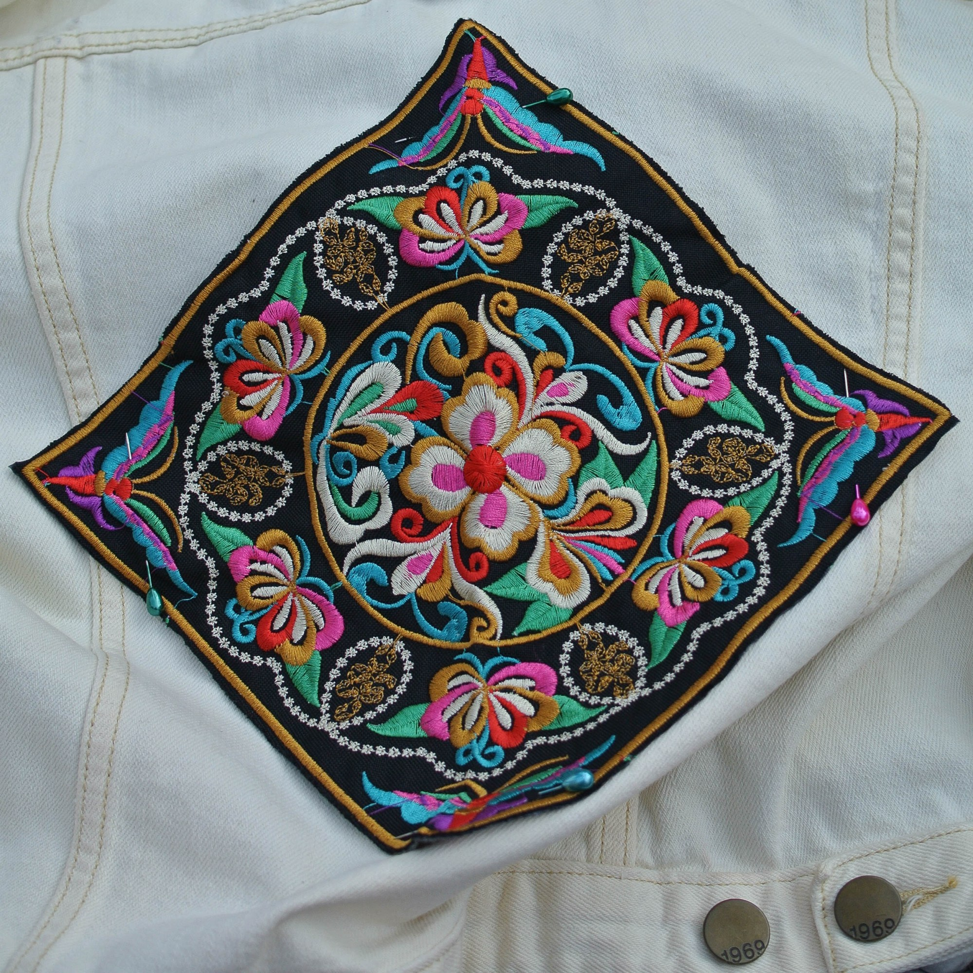 Embellish Jacket DIY Pin On 2