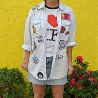 DIY: Patched Denim Shirt
