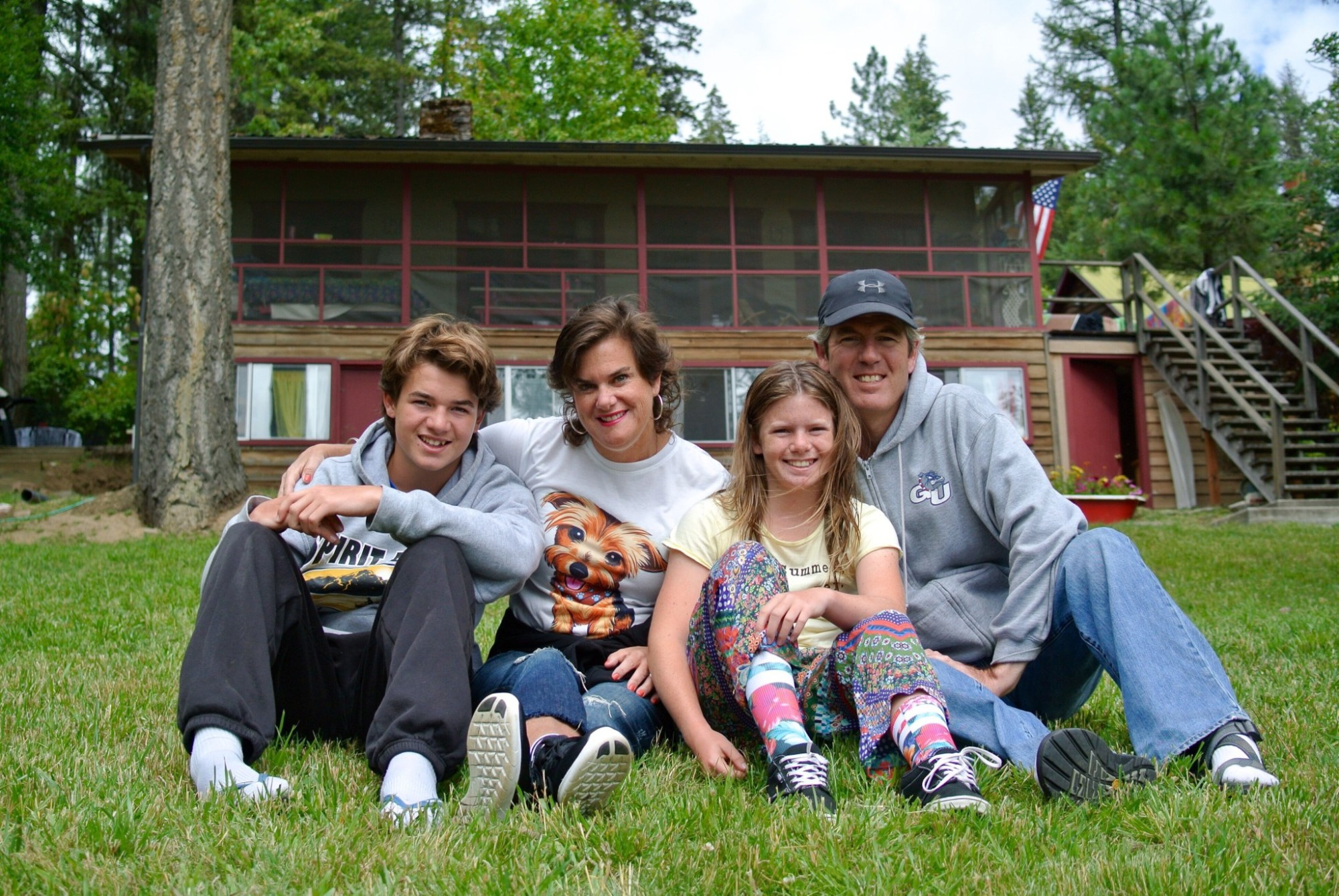 Krembs Family Cabin Candids 3