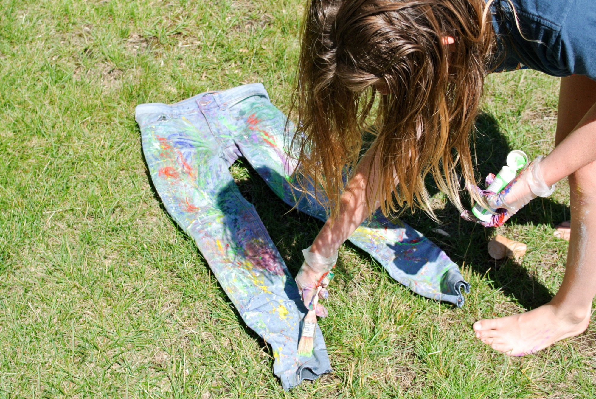 DIY Painter Jeans 10