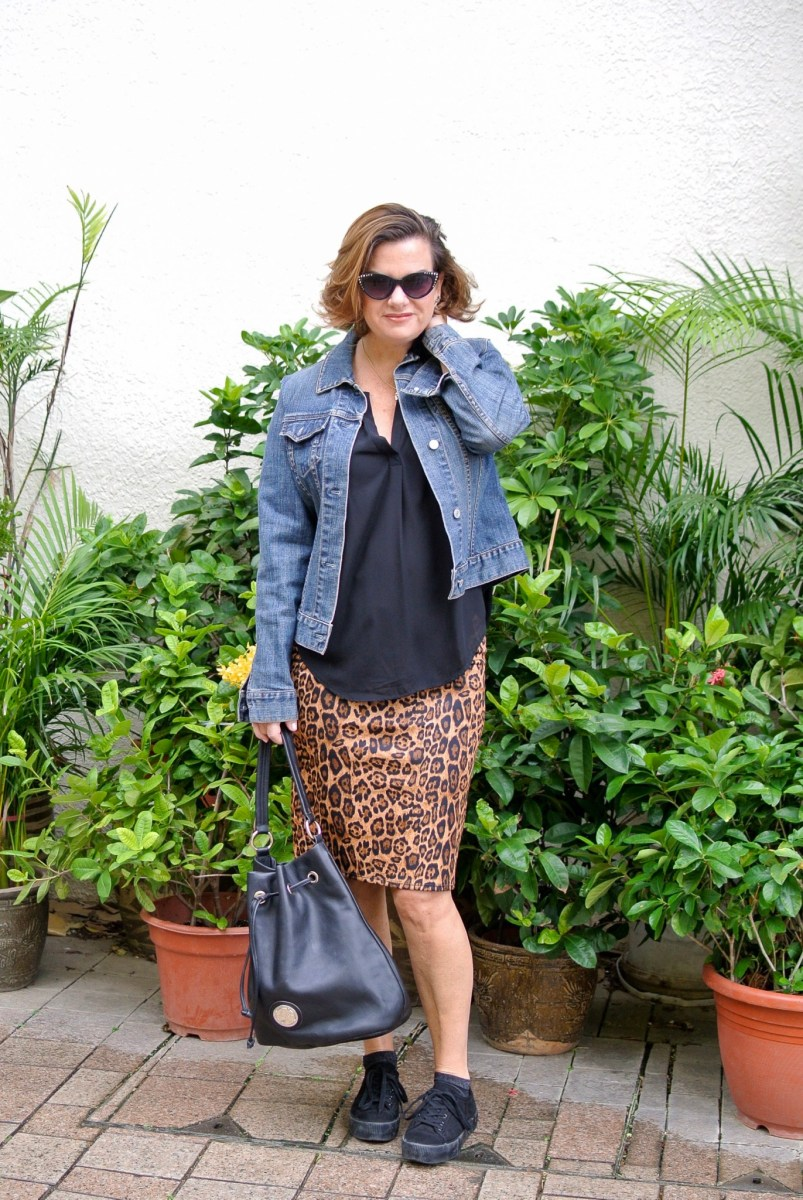 A Leopard Print Skirt X 2--Day 3