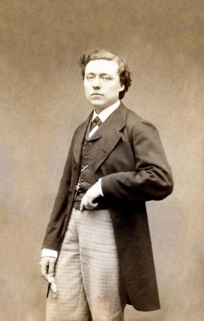 Louis-Joseph Diémer, Lamothe's mentor in Paris, circa 1860s, by Étienne Carjat.