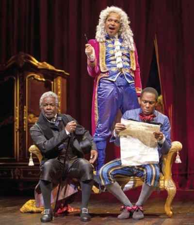 Joseph Marcell in 'A Free Man of Colour' at the Lincoln Center