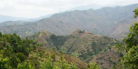 Furcy- Haiti's peaceful mountain village