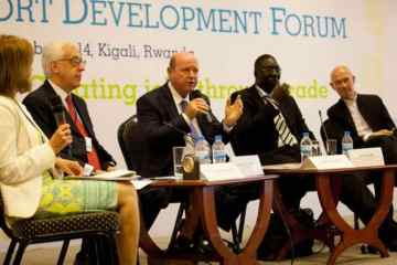 World Export Development Forum meeting in Rwanda hears Seychelles Minister St.Ange make case for Africa