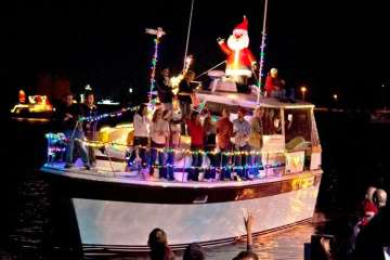 Calling for Christmas Parade Entries by Land or by Sea