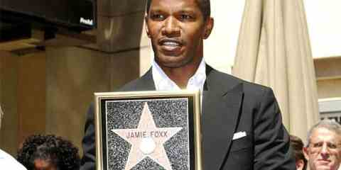 Jamie Foxx induction ceremony for Star on the Hollywood Walk of Fame