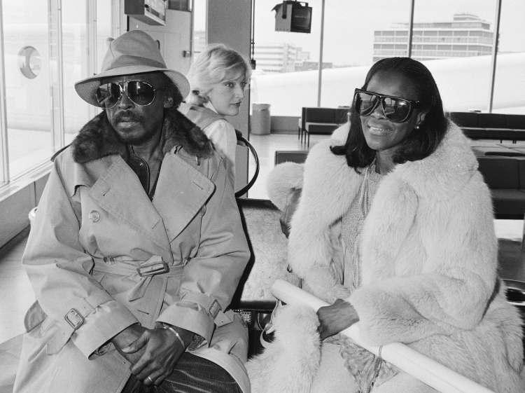 Miles Davis and Cicely Tyson 1982