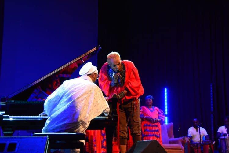 Omar Sosa and Erol Josue at 2016 PAP Haiti Jazz Festival, Port-au-Prince, Haiti.