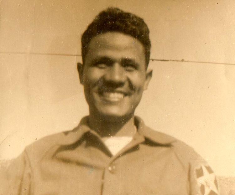 Uncle Frank Lafleur Army picture