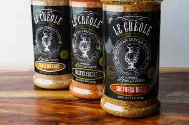 Le Creole Seasoning Trio