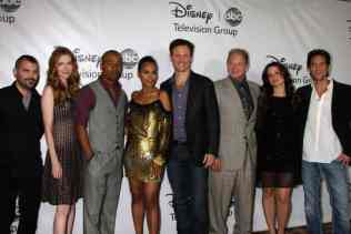 Scandal Cast arrives at the ABC TCA Party Winter 2012