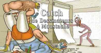 Catcheurs à moustache - article de kreptonite.com