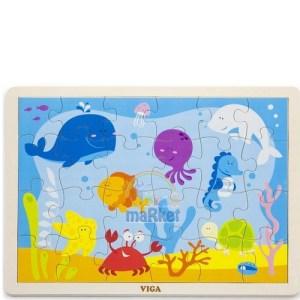 Vigatoys Denizaltı Puzzle24 Parça